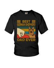 BEST GERMAN SHEPHERD DAD EVER Youth T-Shirt thumbnail