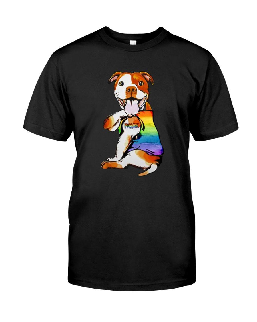 FURRIDE PIT BULL Classic T-Shirt