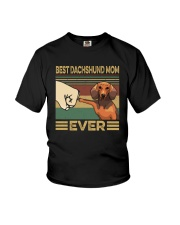 BEST Dachshund MOM EVER s Youth T-Shirt thumbnail