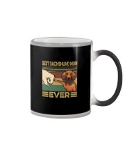 BEST Dachshund MOM EVER s Color Changing Mug thumbnail