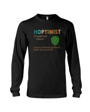 HOPTIMIST EVEYTHING IS BETTER WITH IPA Long Sleeve Tee thumbnail
