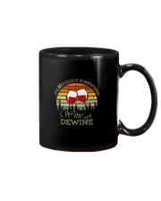 IT'S 2 O'CLOCK SOMEWHERE WINE WITH DEWINE Mug thumbnail