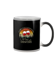 IT'S 2 O'CLOCK SOMEWHERE WINE WITH DEWINE Color Changing Mug thumbnail