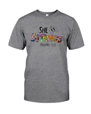 SHE IS STRONG PROVERBS Classic T-Shirt front