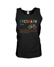 CYCOPATH NOUN VINTAGE Unisex Tank thumbnail