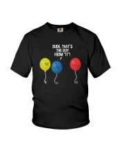 DUDE THAT'S THE GUY FROM IT Youth T-Shirt thumbnail