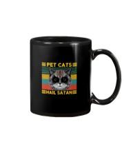 PET CATS HAIL SATAN Mug thumbnail