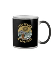STAY WEIRD  Color Changing Mug thumbnail