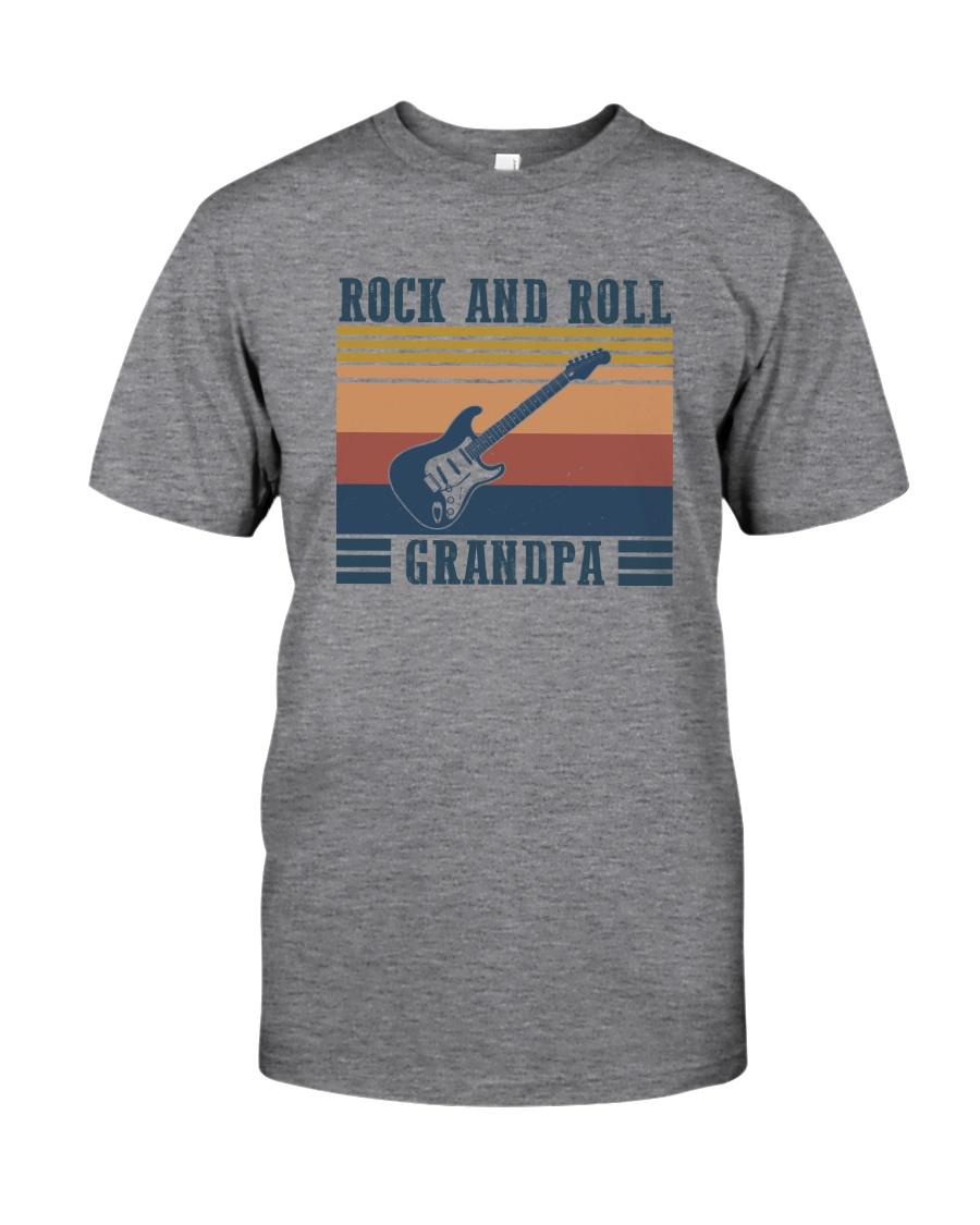 rock grandpa Classic T-Shirt