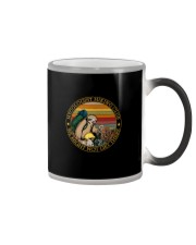 MYCOLOGIST HIKING CLUB WE MIGHT NOT GET THERE Color Changing Mug thumbnail