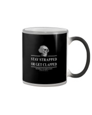 STAY TRAPPED OR GET CLAPPED Color Changing Mug thumbnail