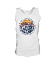 GO OUTSIDE BEAR Unisex Tank thumbnail
