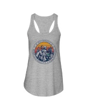 GO OUTSIDE BEAR Ladies Flowy Tank thumbnail