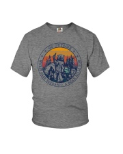 GO OUTSIDE BEAR Youth T-Shirt thumbnail