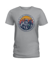 GO OUTSIDE BEAR Ladies T-Shirt thumbnail