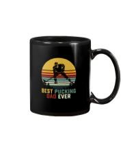 BEST PUCKING DAD EVER VINTAGE Mug thumbnail