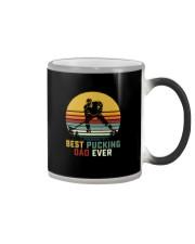 BEST PUCKING DAD EVER VINTAGE Color Changing Mug thumbnail