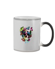 SKULL AND BUTTERFLIES Color Changing Mug tile