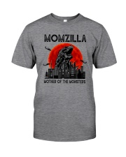 MOTHER OF THE MONSTERS MOMZILLA Classic T-Shirt front