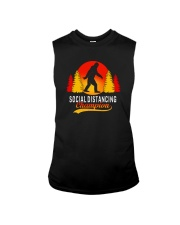 FUNNY BIGFOOT SOCIAL DISTANCING CHAMPION Sleeveless Tee thumbnail