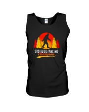 FUNNY BIGFOOT SOCIAL DISTANCING CHAMPION Unisex Tank thumbnail