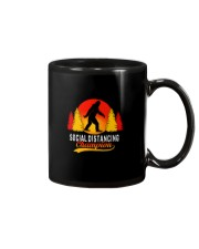 FUNNY BIGFOOT SOCIAL DISTANCING CHAMPION Mug thumbnail