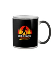 FUNNY BIGFOOT SOCIAL DISTANCING CHAMPION Color Changing Mug thumbnail