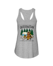 WELCOME TO CAMP QUITCHERBITCHIN Ladies Flowy Tank thumbnail