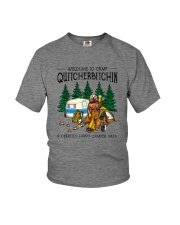 WELCOME TO CAMP QUITCHERBITCHIN Youth T-Shirt thumbnail