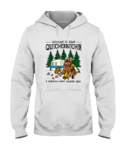 WELCOME TO CAMP QUITCHERBITCHIN Hooded Sweatshirt thumbnail