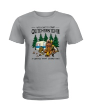WELCOME TO CAMP QUITCHERBITCHIN Ladies T-Shirt thumbnail