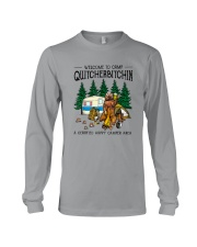 WELCOME TO CAMP QUITCHERBITCHIN Long Sleeve Tee thumbnail