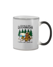 WELCOME TO CAMP QUITCHERBITCHIN Color Changing Mug thumbnail