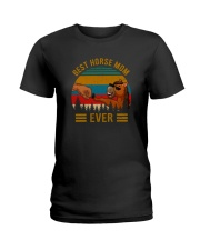 BEST HORSE MOM EVER Ladies T-Shirt thumbnail