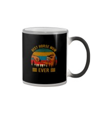 BEST HORSE MOM EVER Color Changing Mug thumbnail