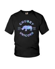 SAVE THE CHUBBY UNICORNS Youth T-Shirt thumbnail