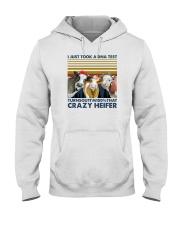 I'M 100 PERCENT THAT CRAZY HEIFER Hooded Sweatshirt thumbnail