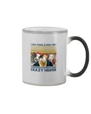 I'M 100 PERCENT THAT CRAZY HEIFER Color Changing Mug thumbnail