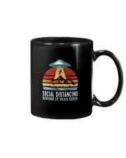 SOCIAL DISTANCING BEFORE IT WAS COOL UFO ALIEN Mug thumbnail