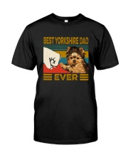 BEST  Yorkshire DAD EVER Classic T-Shirt front