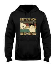 BEST CAT MOM EVER Hooded Sweatshirt thumbnail