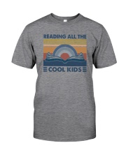 READING ALL THE COOL KIDS Classic T-Shirt front