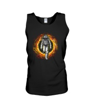 ASTRONAUT IN GALAXY Unisex Tank tile