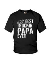 BEST TRUCKIN' PAPA EVER Youth T-Shirt thumbnail
