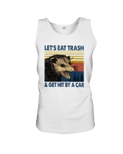 LET'S EAT TRASH AND GET HIT BY A CAR Unisex Tank thumbnail