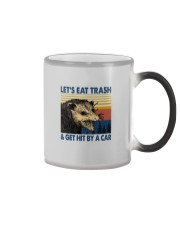 LET'S EAT TRASH AND GET HIT BY A CAR Color Changing Mug thumbnail