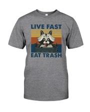LIVE FAST EAT TRASH VINTAGE Classic T-Shirt front