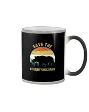 SAVE THE CHUBBY UNICORNS VINTAGE Color Changing Mug thumbnail