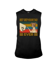 Best Greyhound Dad Ever Sleeveless Tee thumbnail