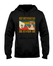 Best Greyhound Dad Ever Hooded Sweatshirt thumbnail